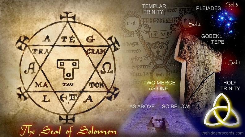 Solomon Key cipher puzzle key of Solomon - The Hidden